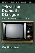 Cover for Television Dramatic Dialogue