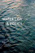 Cover for Water Law and Policy