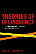 Cover for Theories of Delinquency