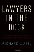 Cover for Lawyers in the Dock