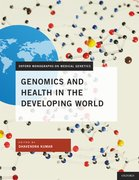 Cover for Genomics and Health in the Developing World
