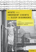 Cover for Acute and Emergent Events in Sleep Disorders