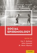 Cover for Social Epidemiology