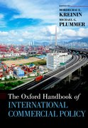 Cover for The Oxford Handbook of International Commercial Policy