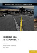 Cover for Conscious Will and Responsibility