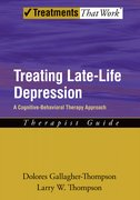 Cover for Treating Late Life Depression