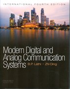 Cover for Modern Digital and Analog Communications Systems