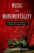 Cover for Music and Monumentality