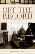 Cover for Off the Record