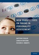 Cover for New Perspectives on Faking in Personality Assessments