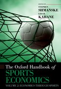 Cover for The Oxford Handbook of Sports Economics Volume 2