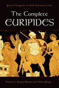 Cover for The Complete Euripides Volume I Trojan Women and Other Plays