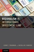 Cover for Regionalism in International Investment Law