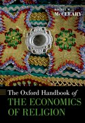 Cover for The Oxford Handbook of the Economics of Religion
