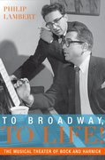 Cover for To Broadway, To Life!