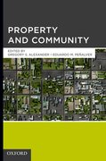 Cover for Property and Community