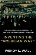 "Cover for Inventing the ""American Way"""
