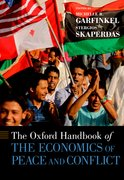 Cover for The Oxford Handbook of the Economics of Peace and Conflict
