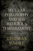 Cover for Secular Philosophy and the Religious Temperament