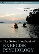Cover for The Oxford Handbook of Exercise Psychology