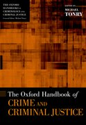 Cover for The Oxford Handbook of Crime and Criminal Justice