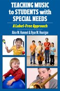 Cover for Teaching Music to Students with Special Needs
