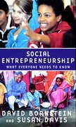 Cover for Social Entrepreneurship