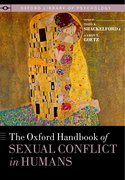 Cover for The Oxford Handbook of Sexual Conflict in Humans