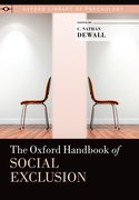 Cover for The Oxford Handbook of Social Exclusion