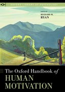 Cover for The Oxford Handbook of Human Motivation