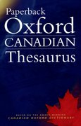 Cover for Paperback Oxford Canadian Thesaurus