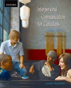 Cover for Interpersonal Communication for Canadians