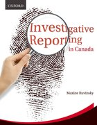 Cover for Investigative Reporting in Canada