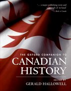 Cover for The Oxford Companion to Canadian History