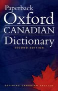 Cover for Paperback Oxford Canadian Dictionary