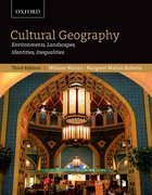 Cover for Cultural Geography: Environments, Landscapes, Identities, Inequalities, third edition