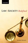 Cover for Law and Society Redefined