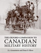 Cover for The Oxford Companion to Canadian Military History