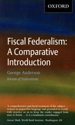 Cover for Fiscal Federalism: A Comparative Introduction