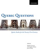 Cover for Quebec Questions: Quebec Studies for the Twenty-First Century