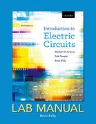 Cover for Introduction to Electric Circuits, Ninth Edition, Lab Manual