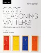 Cover for Good Reasoning Matters!: