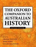 Cover for The Oxford Companion to Australian History