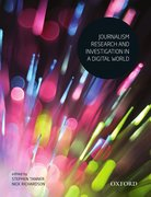 Cover for Journalism Research and Investigation in a Digital World