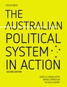 Cover for The Australian Political System in Action 2e