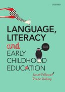 Cover for Language, Literacy and Early Childhood Education