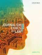 Cover for Journalism Ethics and Law