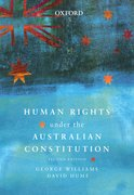 Cover for Human Rights under the Australian Constitution