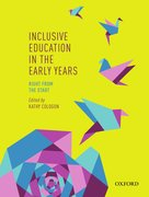 Cover for Inclusive Education in the Early Years: Right from the Start