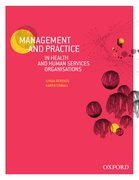 Cover for Management and Practice in Health and Human Service Organisations